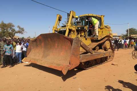Arrondissement N°9 de Ouagadougou: 15 jours pour donner un nouveau visage à la voirie