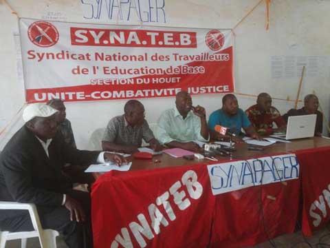 Personnels de l'éducation nationale dans les Hauts-Bassins: Le SYNATEB dénonce une mauvaise gestion