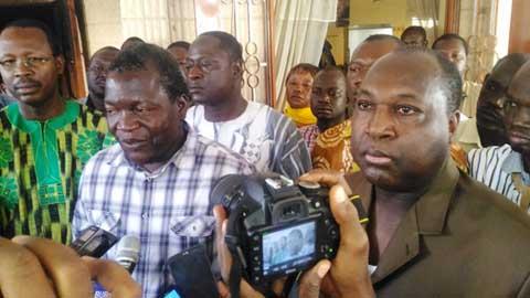 Arrondissement N°8 de Ouagadougou: Un spectacle de désolation suite à un vote de démission du maire