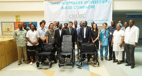 Coopération Burkina-Taiwan: Du matériel pour soulager les patients de l'hôpital Blaise Compaoré