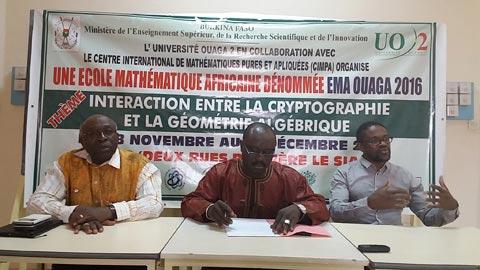 Ecole mathématique africaine: Des matheux décryptent la cryptologie à Ouagadougou