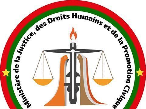 Cérémonie de décoration, ce samedi 17 décembre à 9h au plateau des sports du Palais de Justice de Ouagadougou