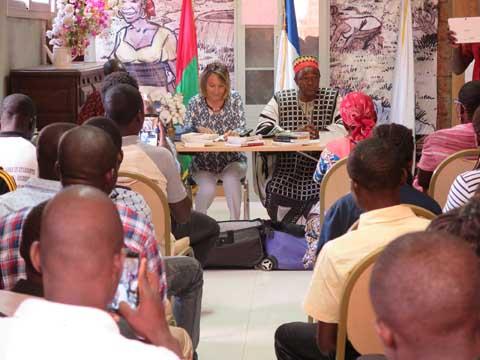 Koudougou: Clémence Coll renaît à Issouka