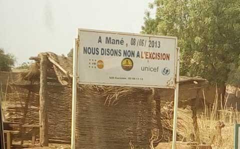 Mané: Un village exempté de cas d'excision