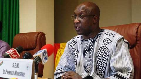Table ronde sur le financement du PNDES: Paul Kaba Thiéba présente les résultats à la presse