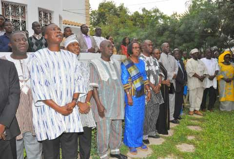 11 décembre 2016 au Sénégal: L'ambassade du Burkina Faso a célébré avec les compatriotes et les pays amis