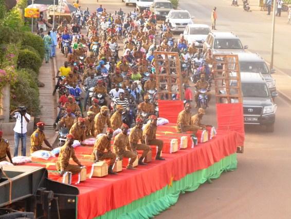 Attaque de Nassoumbou: Les soldats inhumés, leurs frères d'armes prêts à continuer la bataille