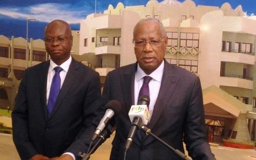 Présidence du Faso: Audience avec Pr Abdoulaye Bathily, candidat à la Présidence de la Commission de l'UA