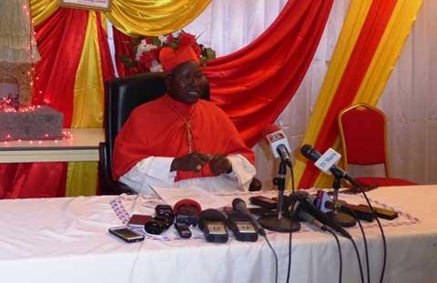 Message du cardinal Philippe Ouédraogo dans le cadre des fêtes de Noël et du nouvel an: «Tous les croyants doivent se mobiliser pour prier»