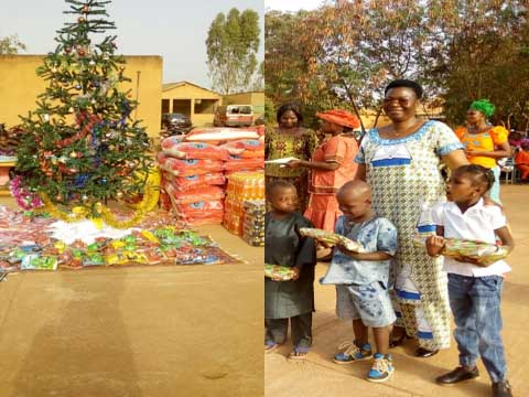 Arbre de Noël au Groupe scolaire privé l'espoir: Un moment de bonheur