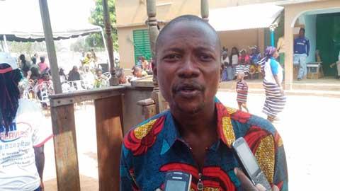 «Nous préférerons travailler bien dans la paix qu'en temps de crises», dixit le président de la Croix-Rouge du Bazèga, Hamed Hamadou Congo