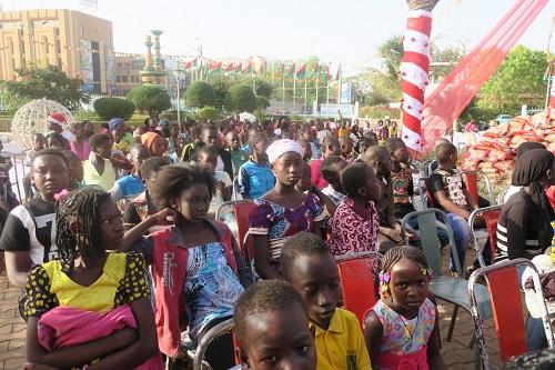 Mairie de Ouagadougou: Les enfants démunis ont eu droit à un arbre de Noël