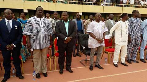 Ministère des Sports et des Loisirs: 66 acteurs décorés