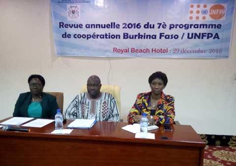 7e programme de coopération Burkina Faso/UNFPA: Concertation autour de la revue annuelle 2016