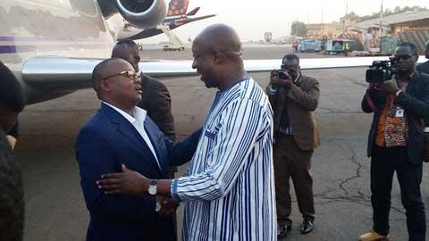 Coopération: Le Premier ministre bissau-guinéen en visite au Burkina