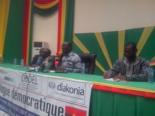 365 jours du président du Faso: le CGD dresse le diagnostic autour d'un dialogue