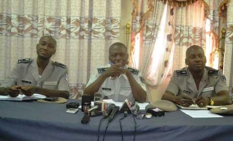 Fêtes de fin d'année à Ouaga: Près de 2000 policiers veillent au grain