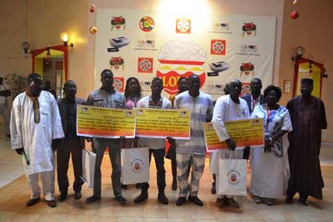 Loterie Nationale Burkinabè: 2017 tend sa main à cinq nouveaux millionnaires