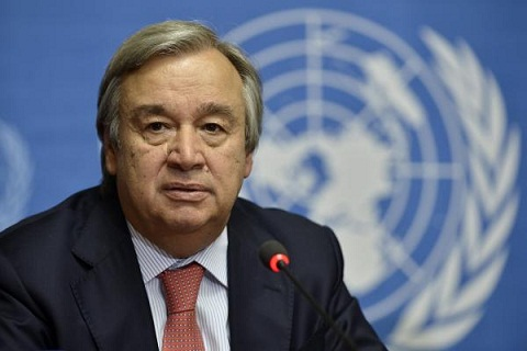Communauté internationale : Antonio Guterres lance un appel à la paix