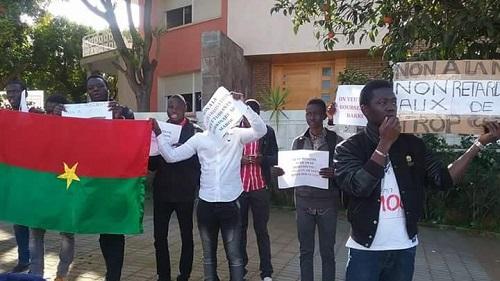 Sit-in des étudiants burkinabè au Maroc: Bientôt le bout du tunnel?