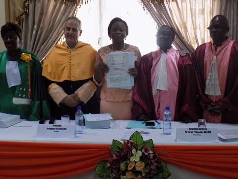 Soutenance de thèse: MmeAlizéta Ouoba analyse les communications préventives contre le VIH/SIDA