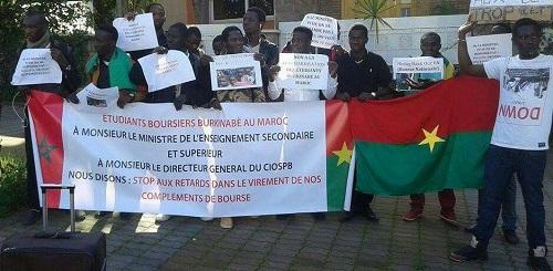 Ambassade du Burkina au Maroc: Les étudiants boursiers lèvent le camp