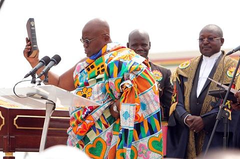 Cérémonie d'investiture de Nana Akufo-Addo: Entre tradition et modernité