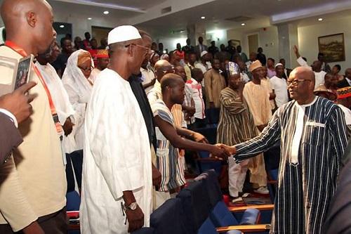 Ghana: Le président Kaboré face à ses ''Koss-wéto»1