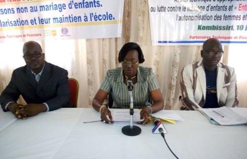 Mariage d'enfants et entrepreneuriat féminin: Les acteurs de la mise en œuvre s'approprient les projets
