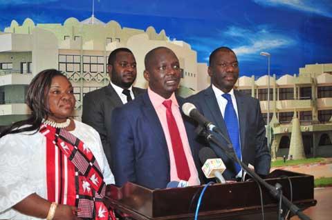 Le Chef de l'Etat a reçu l'Union africaine des ONG de développement et le Collège Ouest africain des chirurgiens