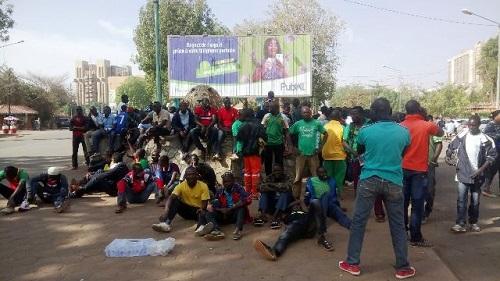 Mutineries de 2011: «Si nous ne sommes pas militaires, il y a des choses que vous allez entendre», Hervé Tapsoba, porte-parole des militaires radiés
