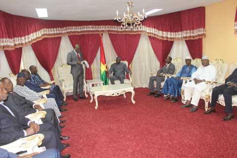 Chambre de commerce: Le nouveau bureau reçu par le président de l'Assemblée nationale et le Premier ministre