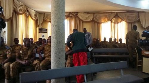Procès des militaires:  Ladji est allé deux fois voir Gilbert Diendéré dans sa cellule