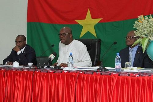 Le Président du Faso face à la communauté burkinabè vivant au Mali