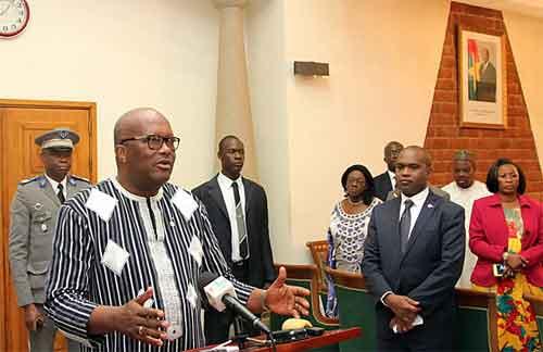 Le Président du Faso fait le bilan de sa participation  au Sommet Afrique-France tenu à Bamako au Mali