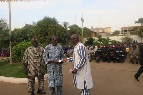 Mairie de Ouagadougou: Le personnel a présenté ses vœux au bourgmestre