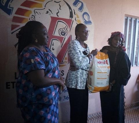 Aide aux femmes et enfants vulnérables: La Radio Femina FM au secours de l'Association Kistaab-sida