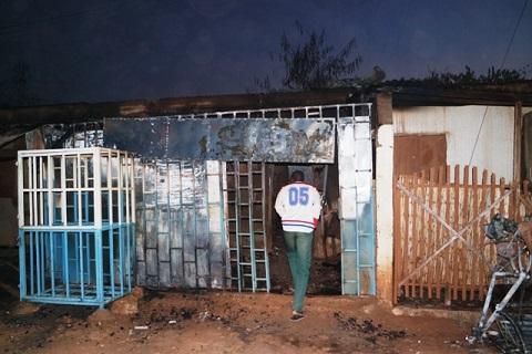 Ouagadougou: Un dépôt de gaz parti en fumée au secteur 12