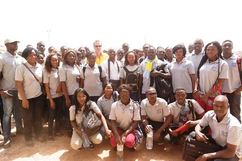 Formation supérieure: Les étudiants de INGRID à la découverte de la mine de Taparko