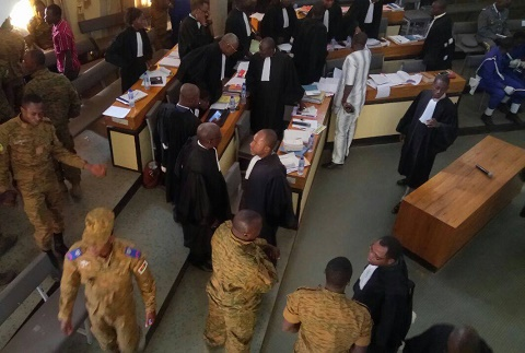 Procès des  militaires: 20 ans de prison requis contre Madi Ouédraogo et deux autres