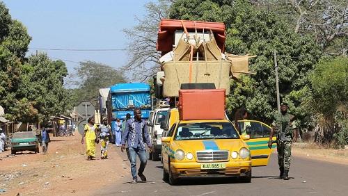 Adama Barrow reçu à Bamako comme un Chef d'Etat — Gambie