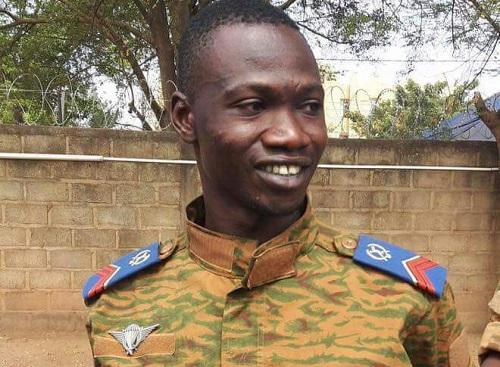 «Si toutefois  quelque chose m'arrive, les autorités de ce pays sont au courant», Caporal Madi Ouédraogo