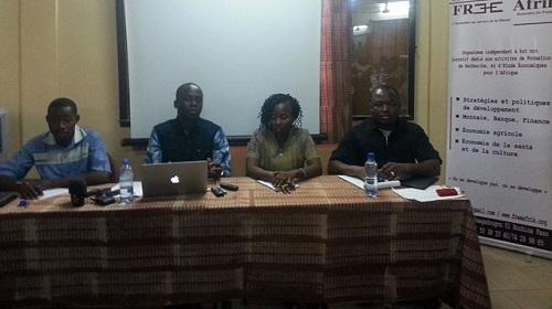 Economie burkinabè: 2016, une année perdue selon l'institut Free Afrik