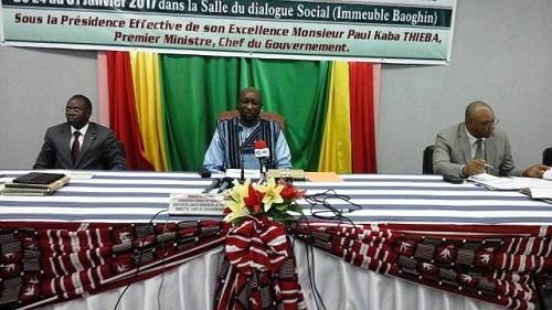 Dialogue social: les organisations syndicales  tiennent au principe de la parole donnée