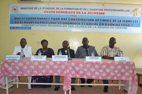Etats généraux de la jeunesse: Rencontre préparatoire avec les représentants des treize régions