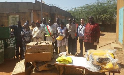 Kombissiri: Les activités de gestion des déchets solides 2017 ont été lancées