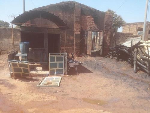 Incendie au quartier Diarradougou: Un dépôt clandestin de carburant parti en fumée