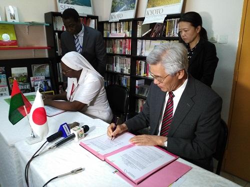 Ambassade du Japon: Des automates d'hématologie et d'Hémostase de dernière génération pour le centre Béthanie de Fada