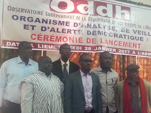 ODDH: Une nouvelle organisation pour promouvoir les droits humains