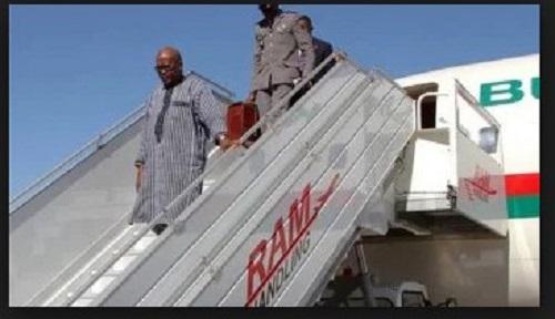 Achat d'un avion présidentiel: le président Kaboré rassure qu'il n'en est rien